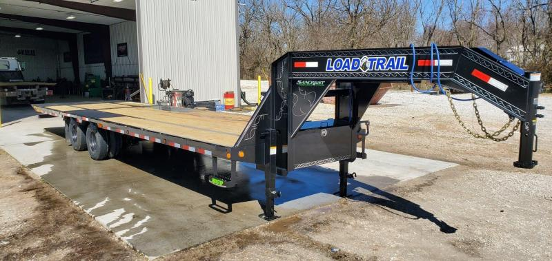 2020 Load Trail 102X32 TANDEM LO-PRO GOOSENECK W/10K AXLES(HDSS) & 10' TAIL