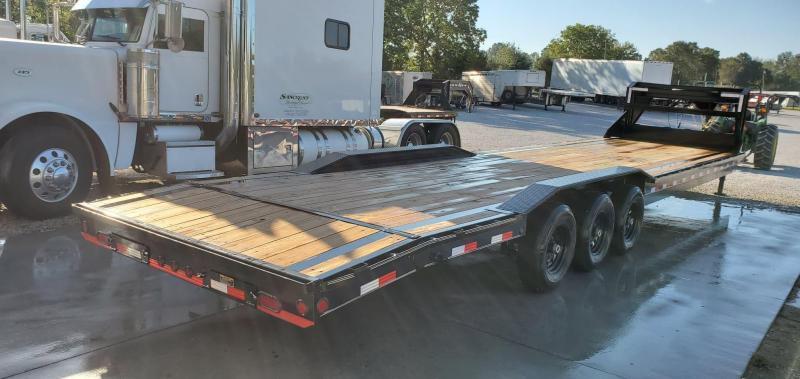 2019 Load Trail 102X36(34+2) TRIPLE 21K GOOSENECK CAR HAULER W/ SLIDE OUT RAMPS
