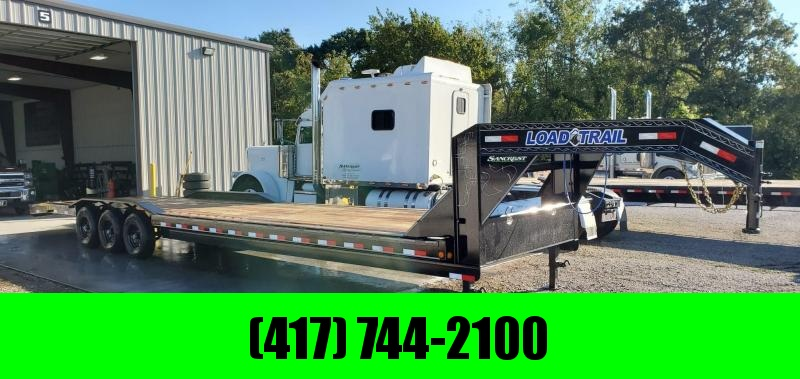 2019 Load Trail 102X36(34+2) TRIPLE 21K GOOSENECK CAR HAULER W/ SLIDE OUT RAMPS