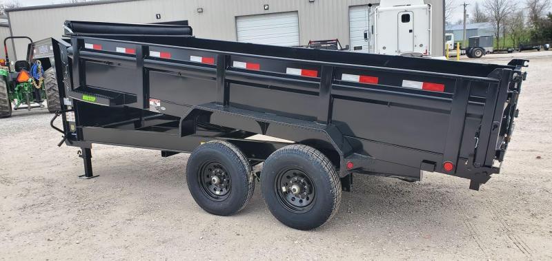 """2020 Load Trail 83X16 TANDEM 14K GOOSENECK DUMP TRAILER W/24"""" SIDES & 14K HOIST"""