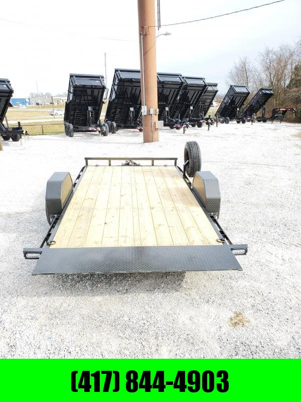 2020 MAXXD 77 X 12 SINGLE 5.2K(ELEC. BRAKE) G4X GRAVITY TILT TRAILER