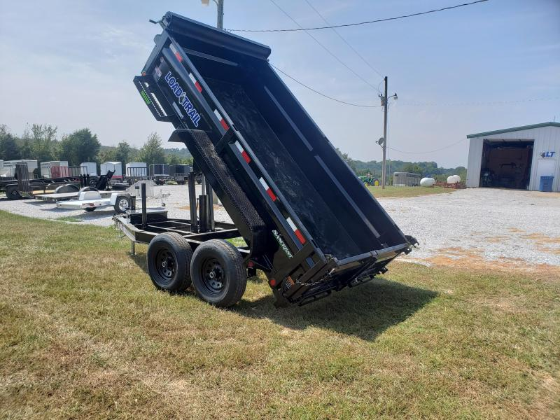 2020 LOAD TRAIL 72 X 12 DUMP TRAILER I-BEAM FRAME W/ 5200LB AXLES