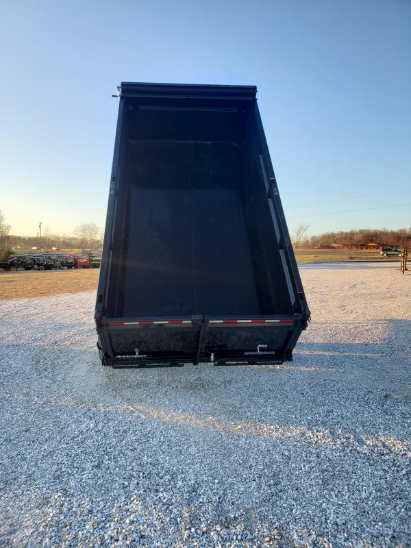 2020 Load Trail 83x14 TANDEM 14K DUMP TRAILER W/ 3FT SIDES