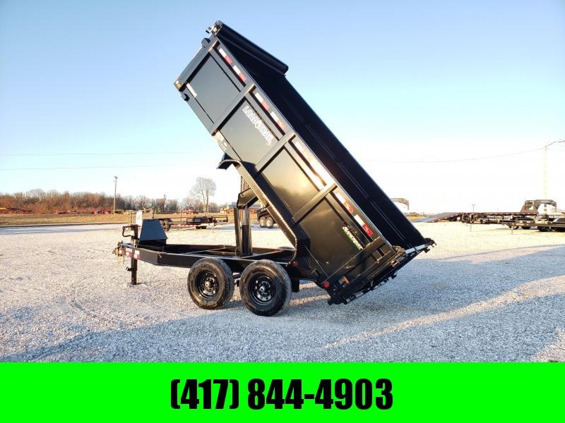 2020 Load Trail 83x14 TANDEM 14K DUMP TRAILER W/ 3FT SIDES