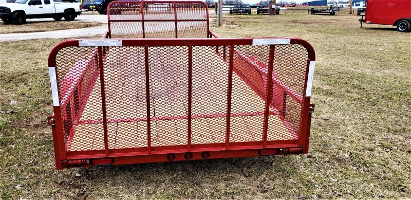 "2018 Load Trail 83"" x 16' Tandem Axle Utility (4"" Channel Frame)"