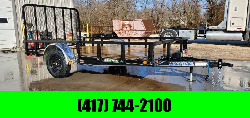 2020 Load Trail 83X12 SINGLE 3.5K UTILITY W/REMOVABLE RAILING/FENDERS