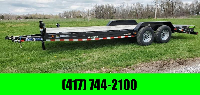 2020 Load Trail 83x22 TANDEM 14K EQUIPMENT HAULER W/MAX RAMPS