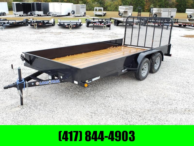 "2020 Load Trail 83"" x 16' Tandem Axle Utility Trailer w/ Solid sides"