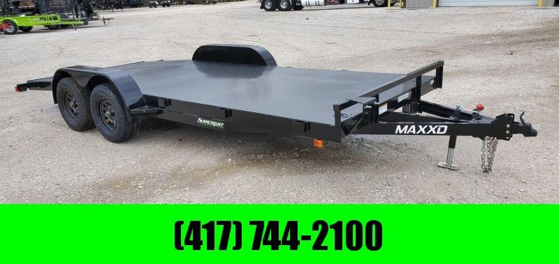 2020 MAXXD 83X18 TANDEM 7K CAR HAULER W/ STEEL DECK & 4' DOVETAIL