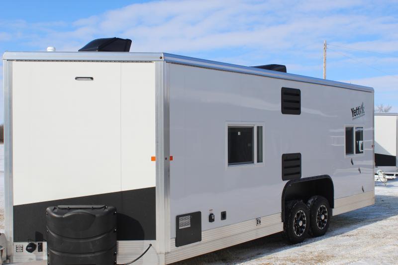 2020 Yetti Traxx T821-PKF Ice/Fish House Trailer
