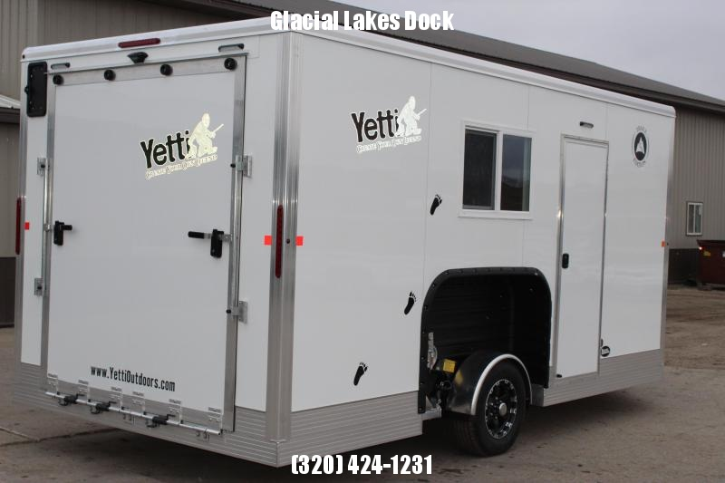 2020 Yetti Traxx T816PK Ice/Fish House Trailer