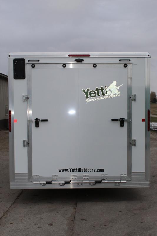 2020 Yetti Traxx T816PK Ice/Fish House Trailer