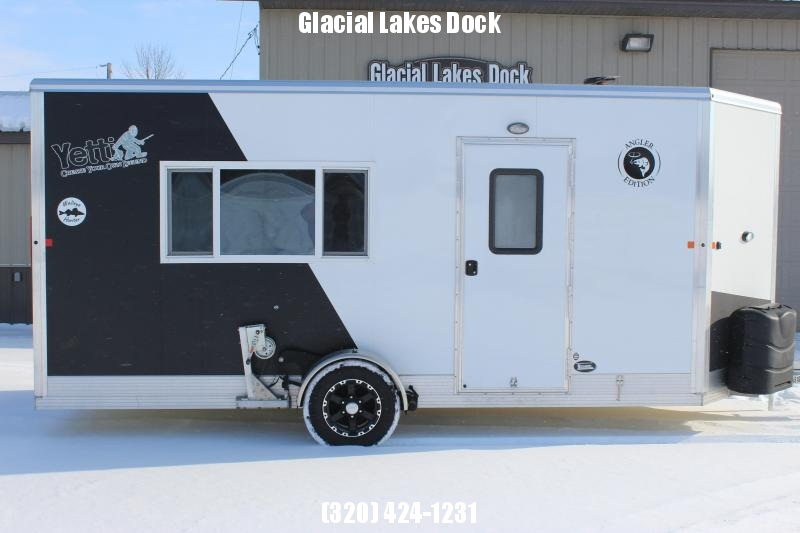 2018 Yetti Angler A616-DRK Ice/Fish House Trailer
