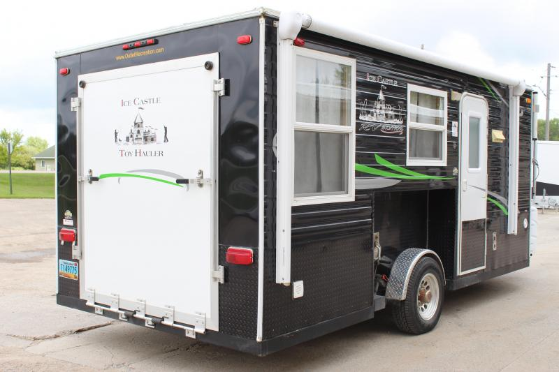 2015 Ice Castle RV Edition Toy Hauler Ice/Fish House Trailer