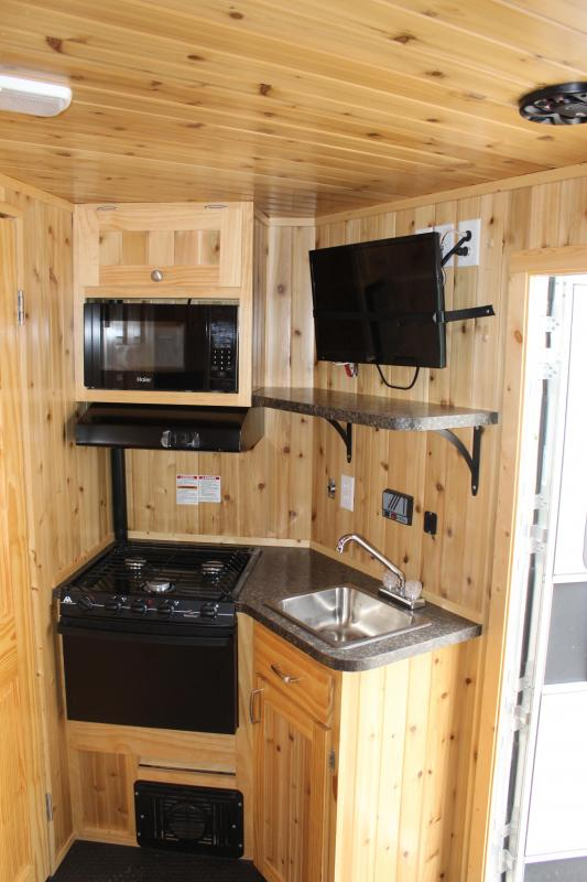 2016 Yetti Excursion Ice/Fish House Trailer