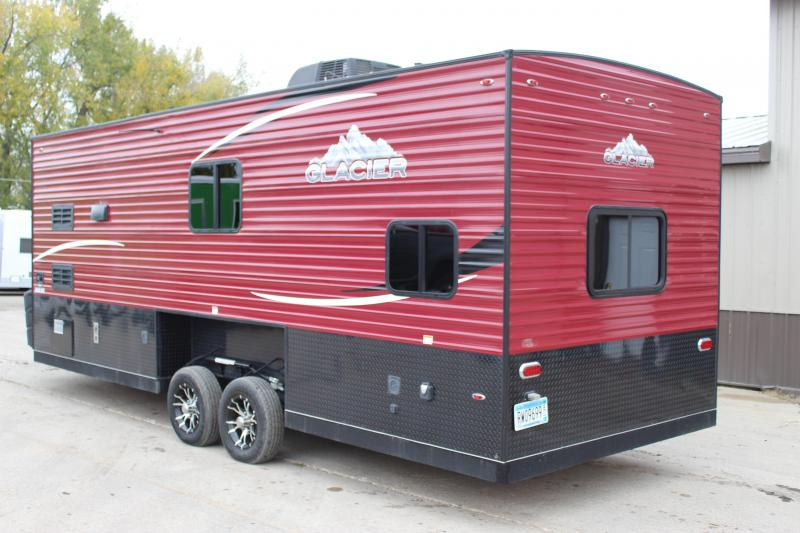 2017 Glacier 22 RV Explorer Ice/Fish House Trailer