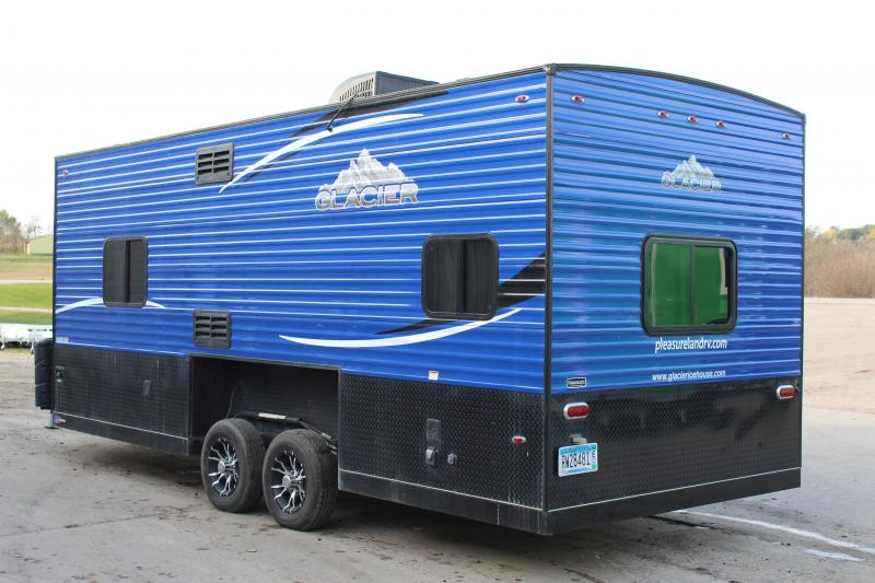 2018 Glacier RV Explorer 20 Ice/Fish House Trailer
