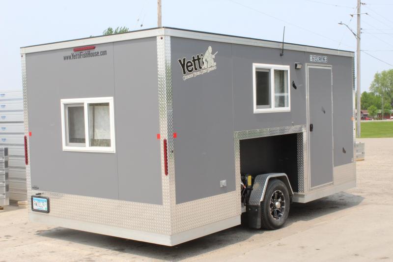 2016 Yetti 8 x 16 Custom Fish House