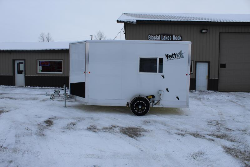 2020 Yetti Shell C612 Ice/Fish House Trailer