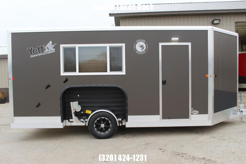 2020 Yetti Angler A816-PRK Ice/Fish House Trailer
