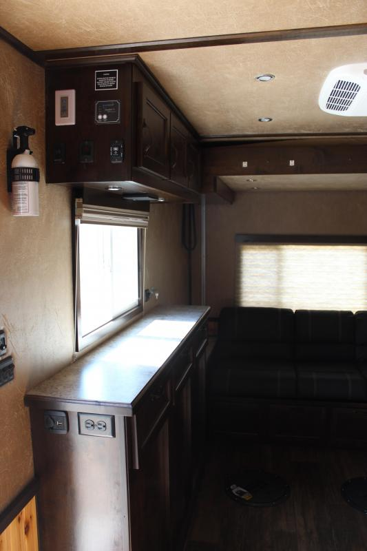 2020 Yetti Grand Escape GE816-DRKF RV Fish House