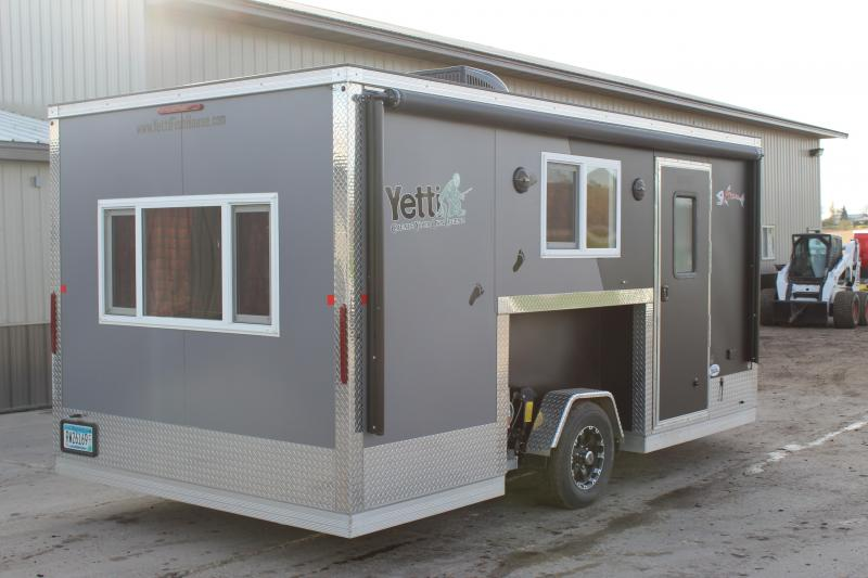 2017 Yetti 8x16 Extreme Ice/Fish House Trailer