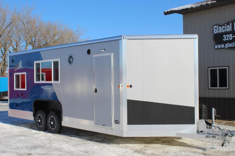 2020 Yetti Angler A821-PRK Ice/Fish House Trailer