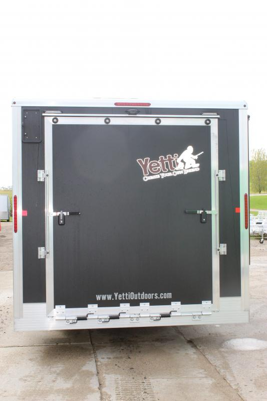 2020 Yetti Traxx T816-PK Ice/Fish House Trailer