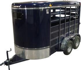 2020 Delta 500S Livestock Bumper Pull Trailer