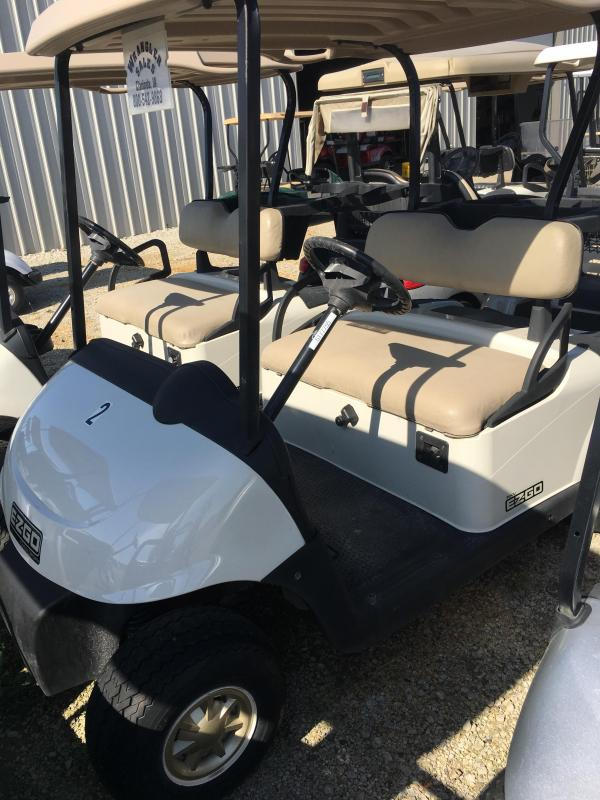 2012 E-Z-GO RXV Golf Cart