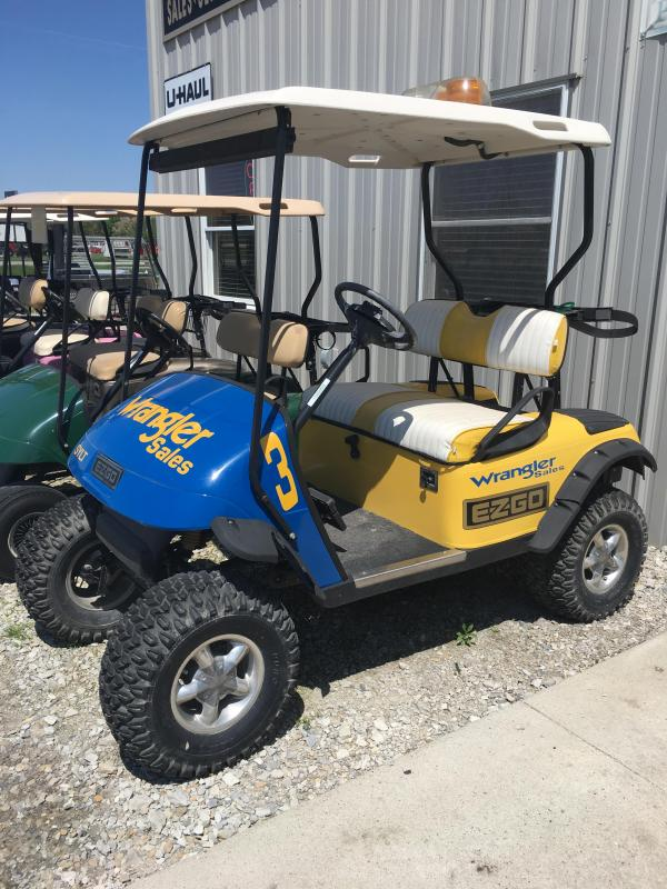 2003 E-Z-GO Track Car Golf Cart