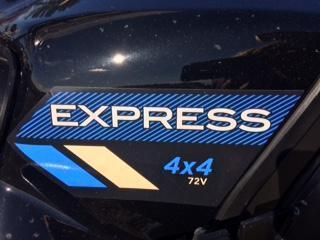 2020 E-Z-GO Express 4X4
