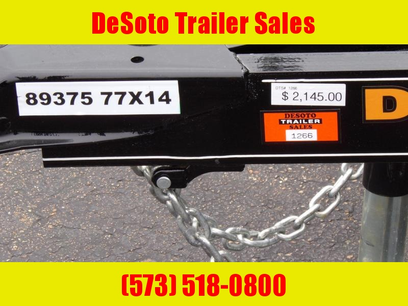 2020 Doolittle Trailer Mfg UT77X143 Utility Trailer