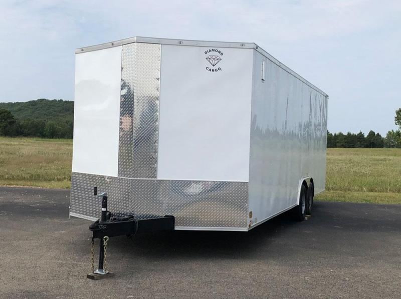 2020 Diamond Cargo 24' Enclosed Car Hauler
