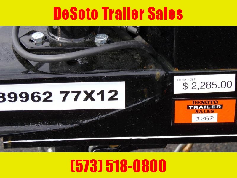 2020 Doolittle Trailer Mfg UT77X123 Utility Trailer