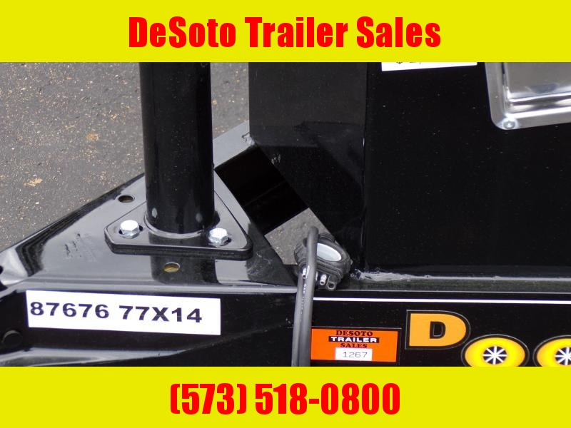 2020 Doolittle Trailer Mfg UT77143 Utility Trailer