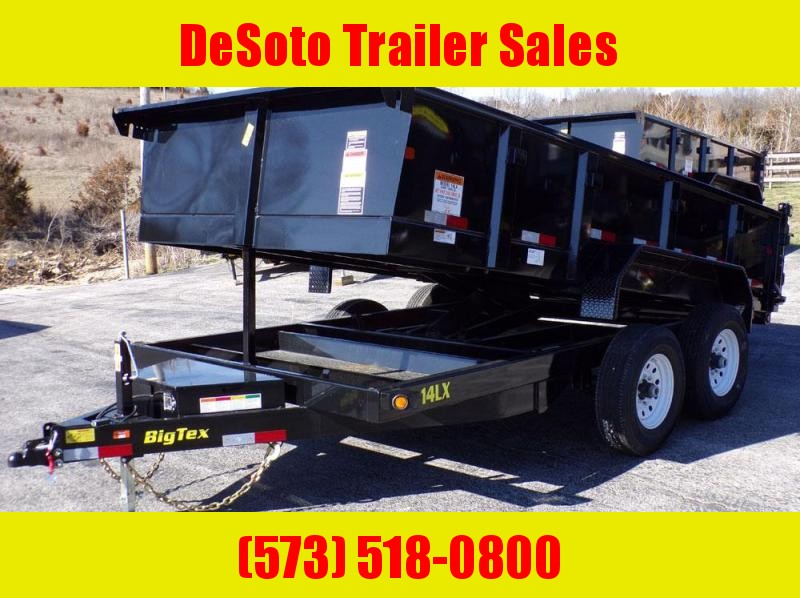 2018 Big Tex 14LX 14' Dump Trailer
