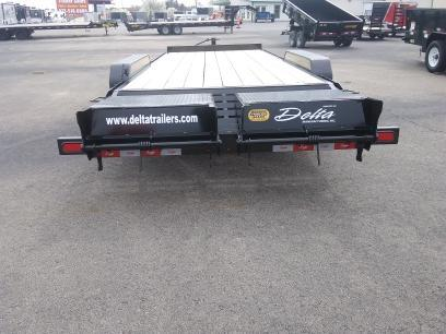 2020 Delta Manufacturing 28EB-HD Equipment Trailer