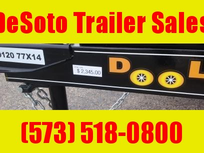 2020 Doolittle Trailer Mfg UT77X143K Utility Trailer
