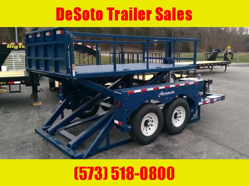 2018 Air Tow DH10 Dock Height Trailer