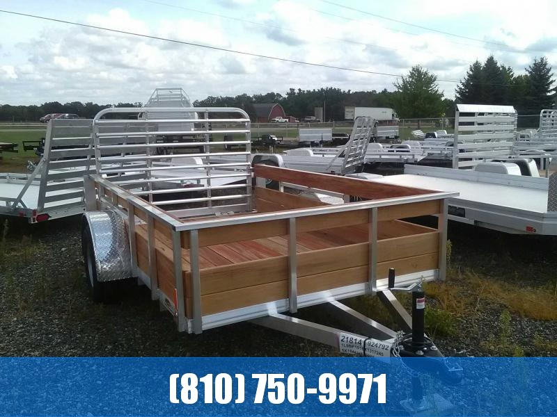 2019 Legend 6x10 3-Board High Side Utility Trailer