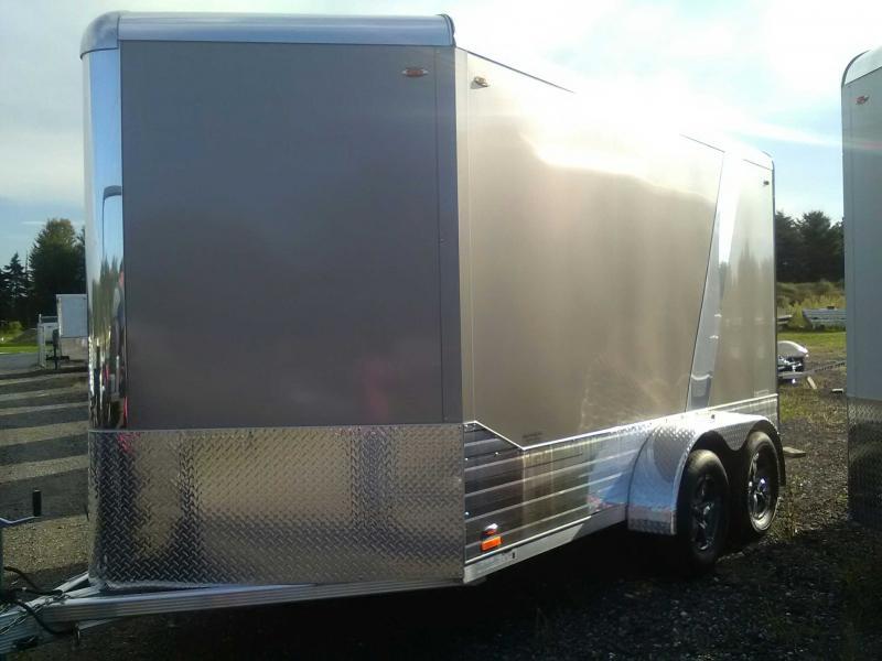 2019 Legend 7x15 Deluxe V-Nose All-Aluminum Enclosed Trailer