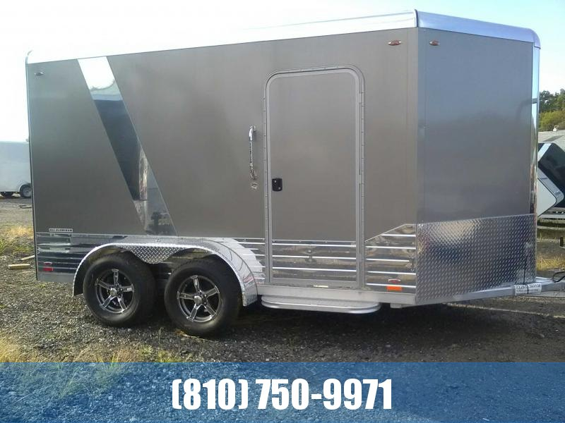2019 Legend 7x15 Deluxe V-Nose All-Aluminum Enclosed Trailer