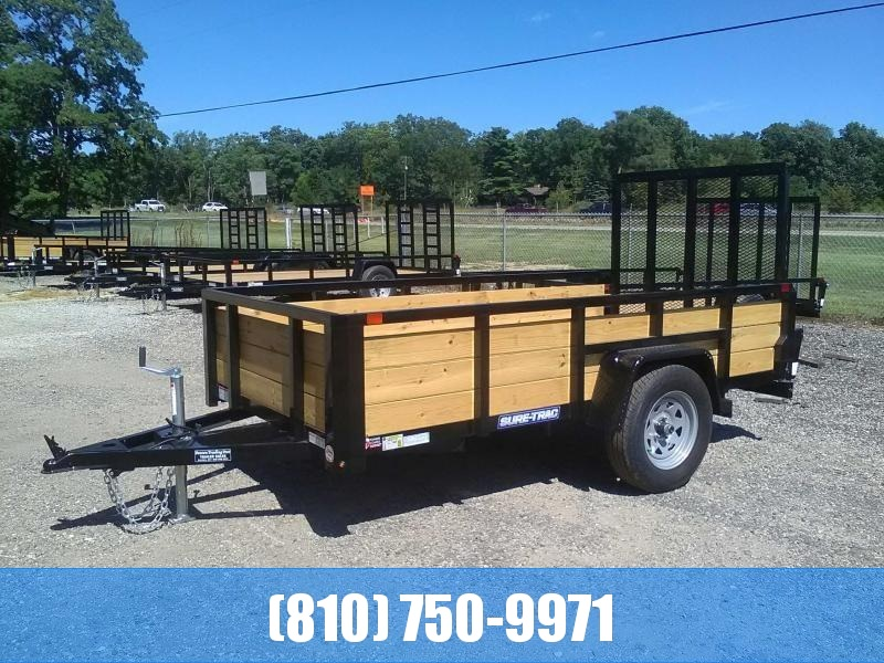 2019 Sure-Trac 5X10 3-Board High Utility Trailer