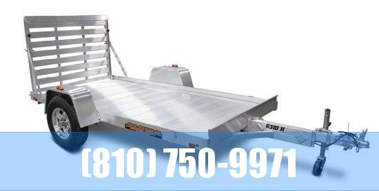 2021 Aluma 6310H Utility Trailer with Bi-Fold Tailgate