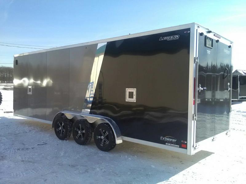 2020 Legend 7.5 x 29 Explorer Snowmobile Trailer