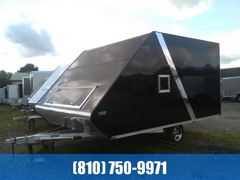 2020 Sport Haven 13' Hybrid Deluxe Snowmobile Trailer