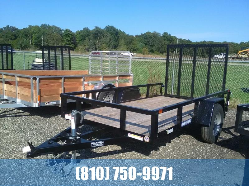 2020 Sure-Trac 5X10 Tube Top Utility Trailer
