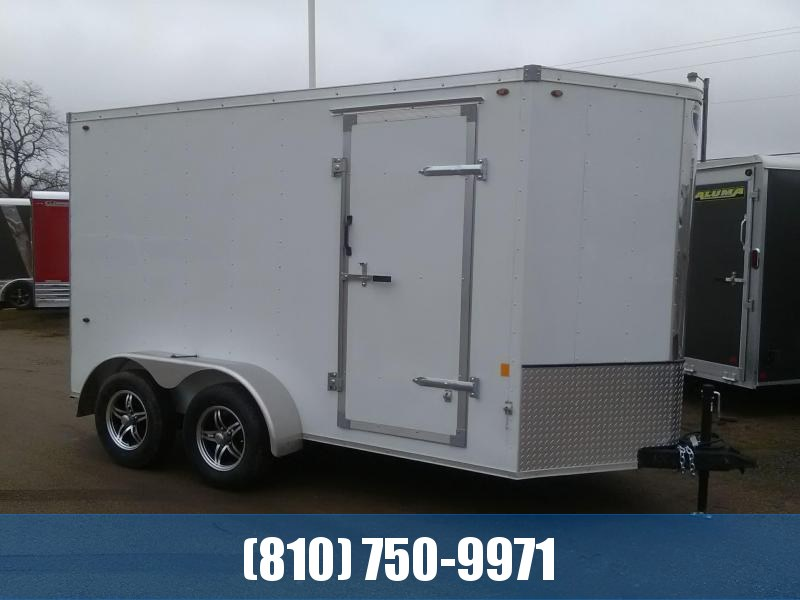 2020 Interstate  IFC 6x12 Tandem Axle Enclosed Cargo Trailer