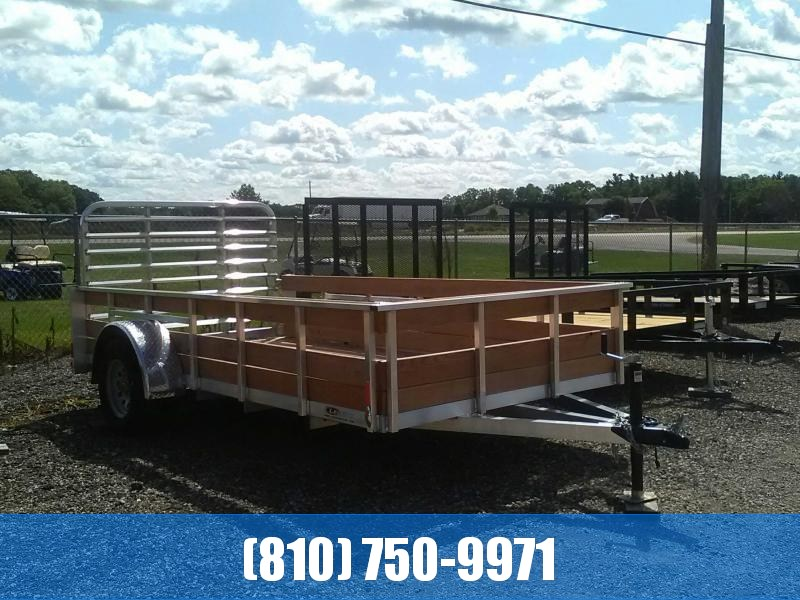 2020 Legend 6x12 3-Board High Side Utility Trailer
